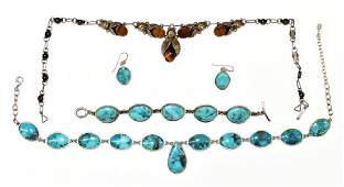 Sterling Silver SouthWest Style Jewelry