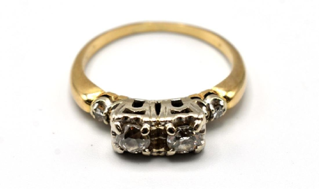 14K Gold and Diamond Lady's Ring