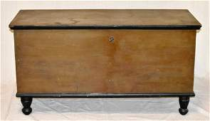 Pa. 19th Century Painted Blanket Chest
