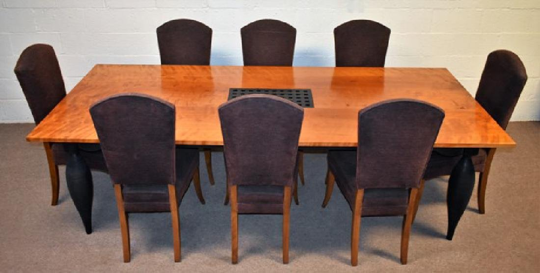 John Eric Byers Dining Room Table & Chairs