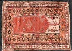 Vintage Tribal Throw Rug