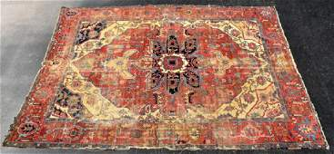 Antique Serapi Room Sized Rug