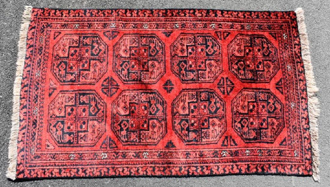 Turkoman Wool Throw Rug