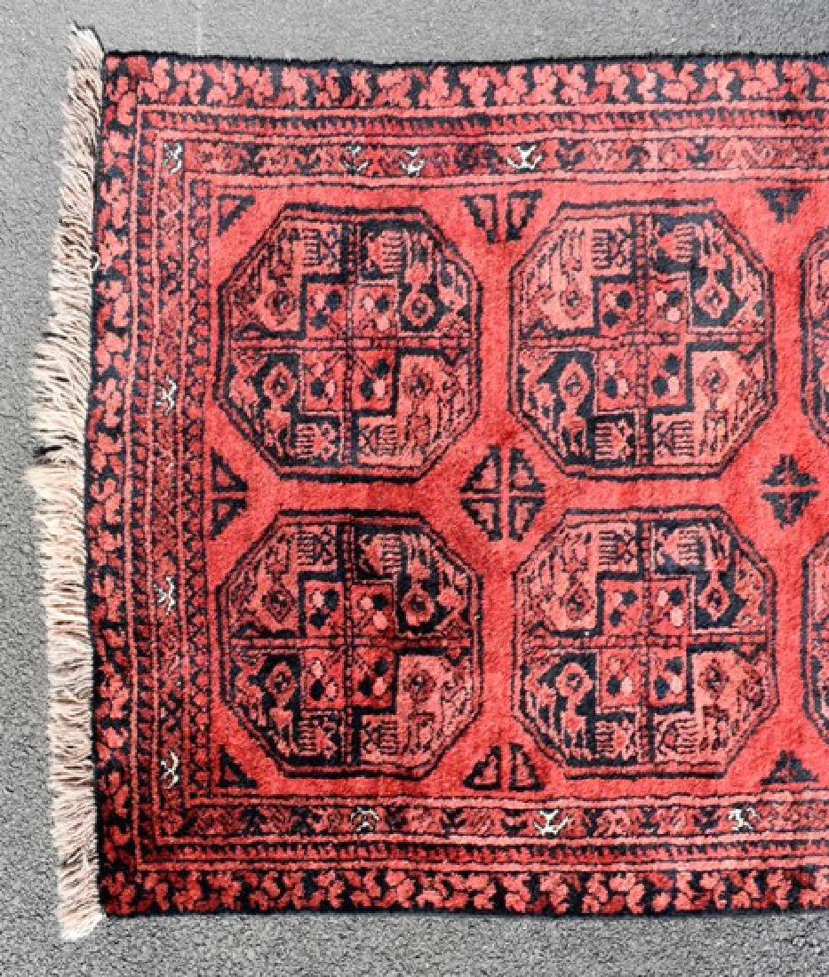 Turkoman Wool Throw Rug - 2