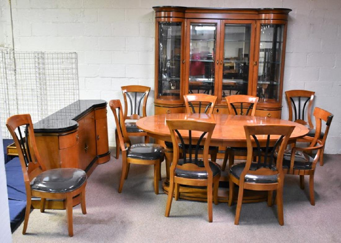 Modern Cherry Dining Room Set
