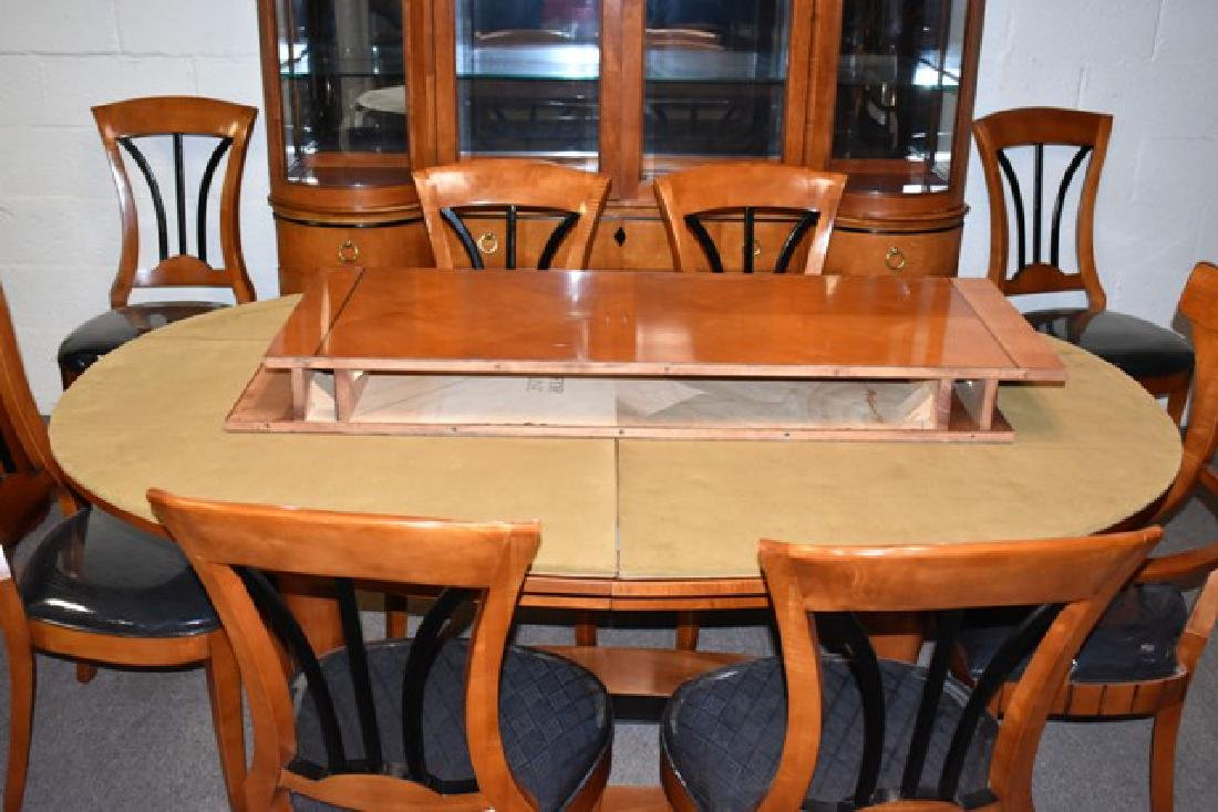 Modern Cherry Dining Room Set - 2