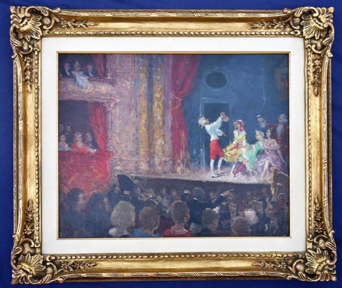 Harry Mass Oil Painting Of Opera