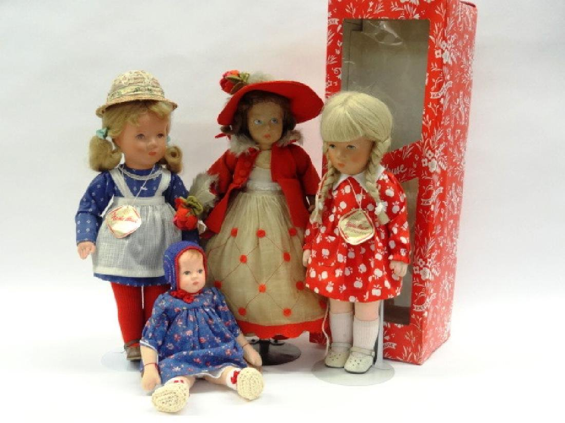 Three Kathe Kruse Dolls