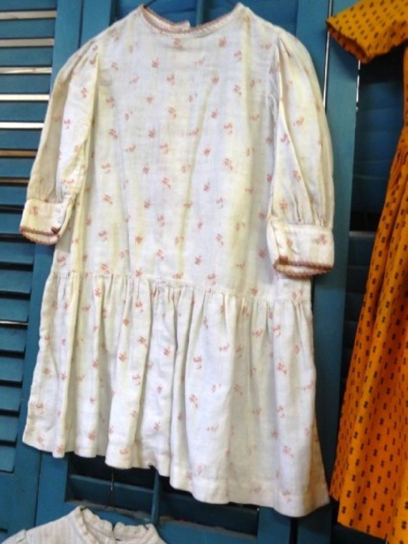 Six  early children's dresses - 3