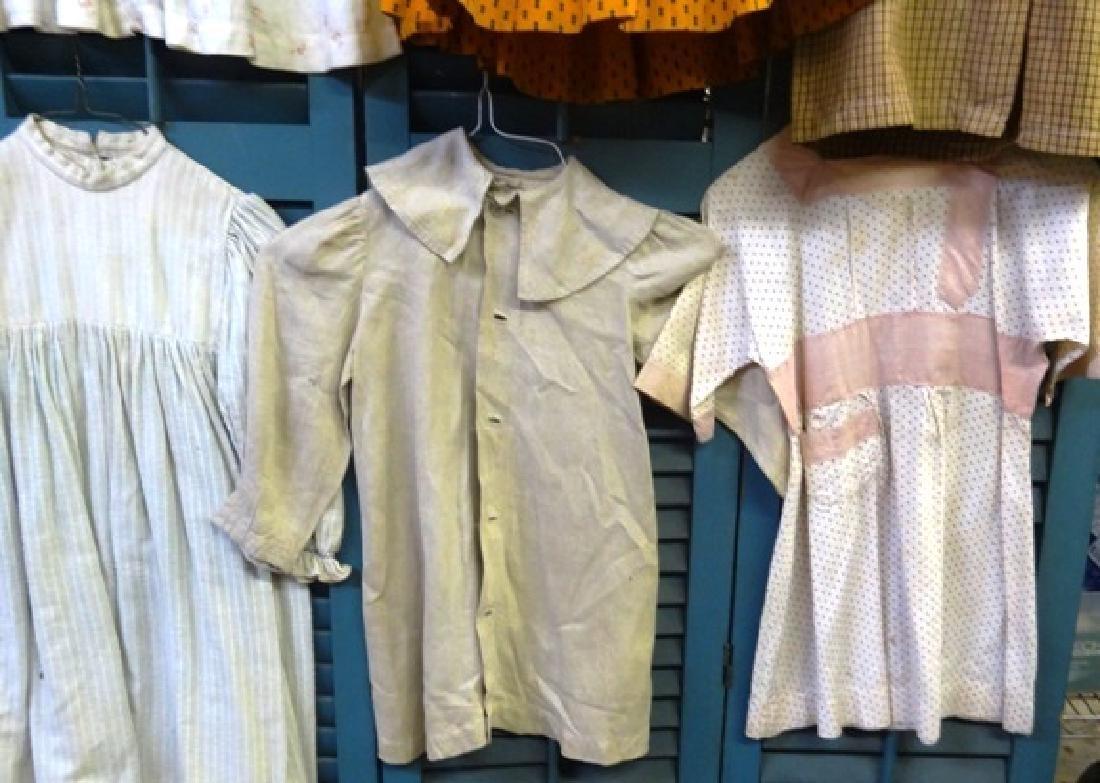 Six  early children's dresses - 4
