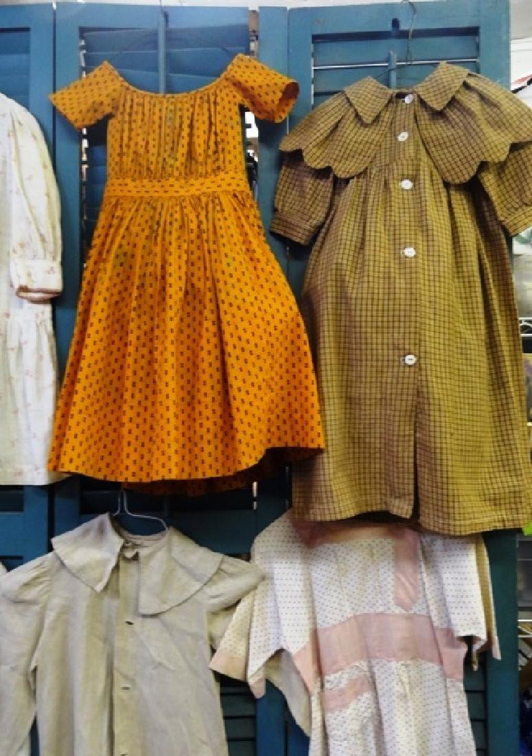 Six  early children's dresses - 5