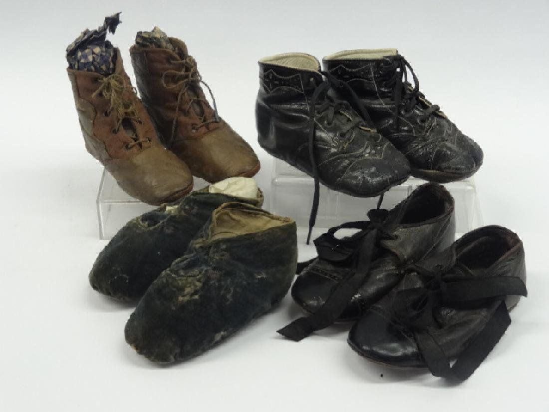 Four Pair of  Childs Shoes