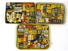Large Group Of Vintage Advertising Containers