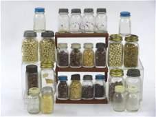 Collection of Vintage Miniature Canning Jar Banks &