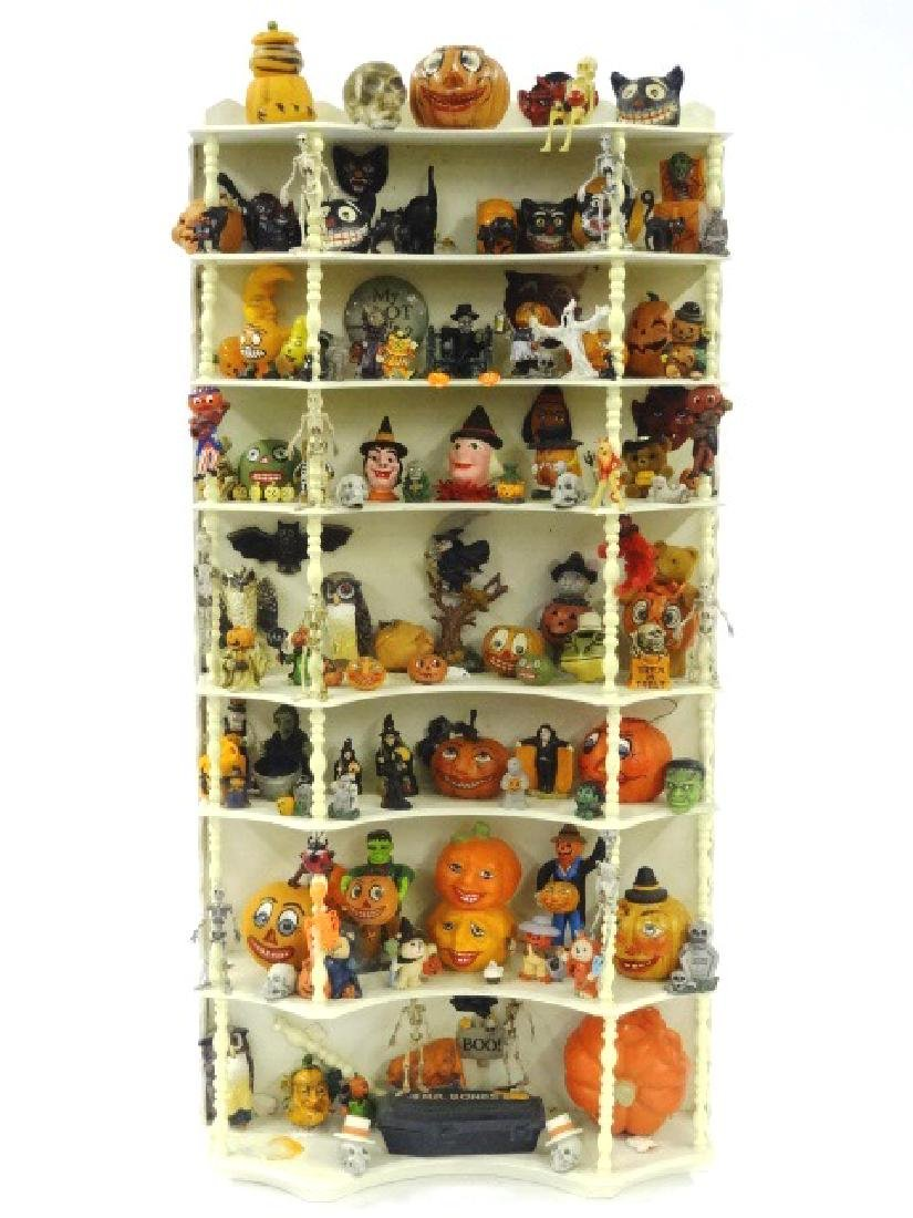 Collection of Dollhouse Halloween Decorations