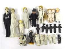 Vintage Small Bisque Dolls