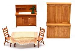 Artisan Dollhouse Country Furniture Miniatures