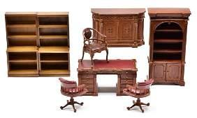 Bespaq Dollhouse Study Furniture Miniatures