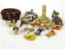 Dollhouse Small Cat Figures Miniatures