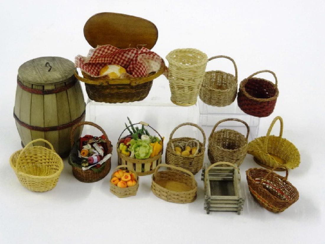 Al Chandronnait & Others Artisan Dollhouse Baskets