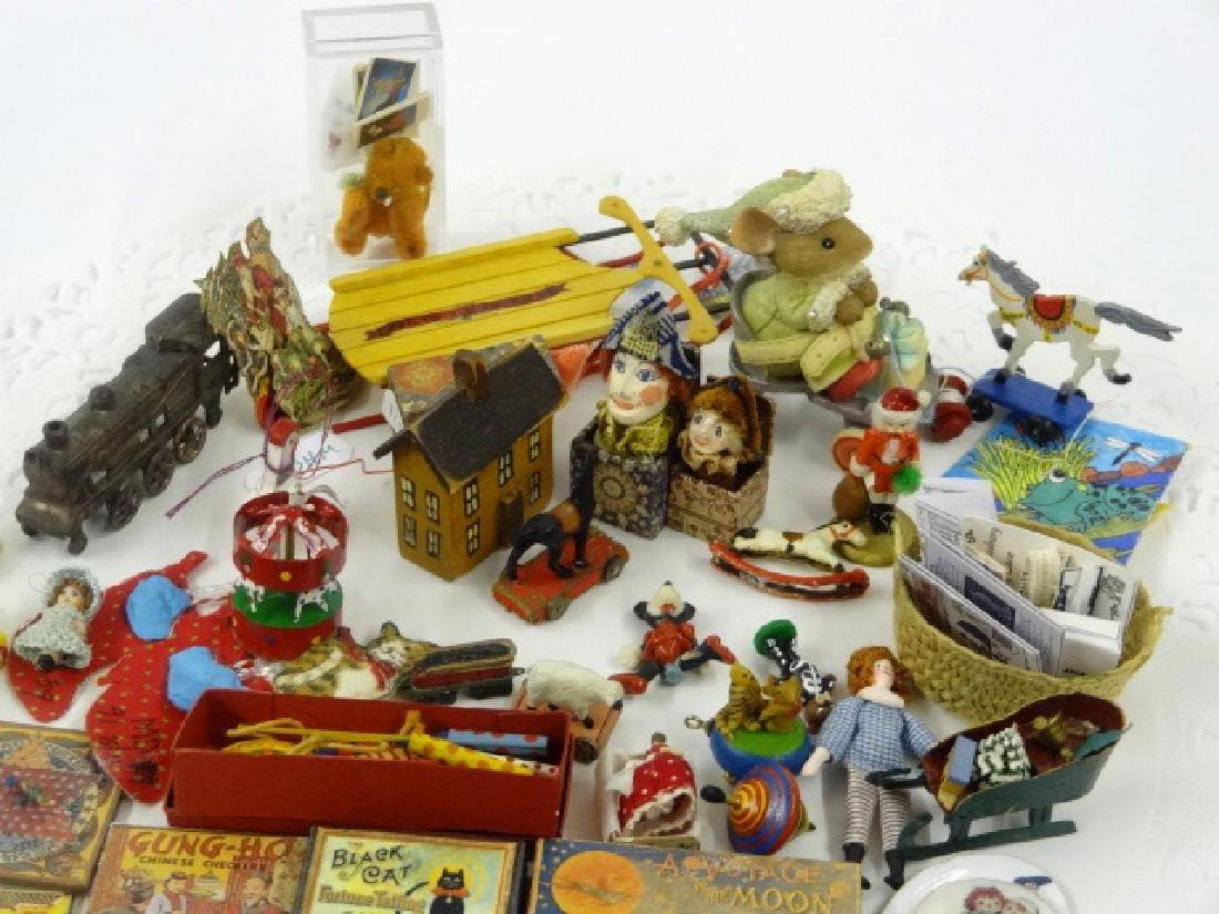 Large Lot of Dollhouse Miniature Toys Miniatures - 2
