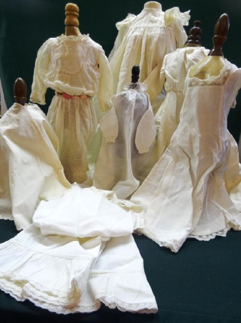 Doll Dresses, Slips, Seven Pieces