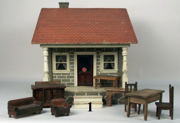1: 1900's Cottage with Furniture