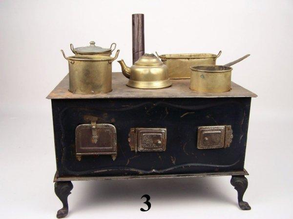 3: Unmarked German Tin Stove