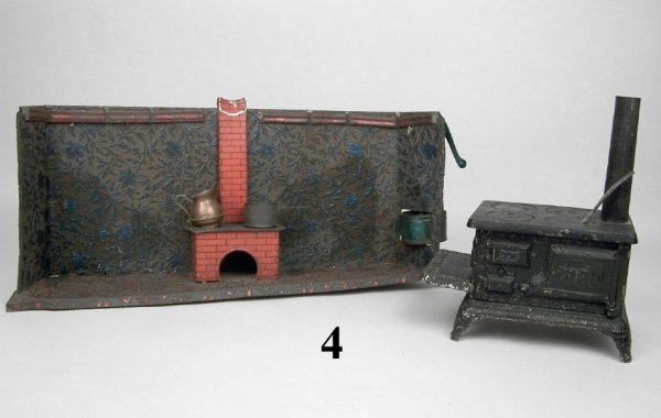 4: Tin Kitchen & Cora Cast Iron Stove