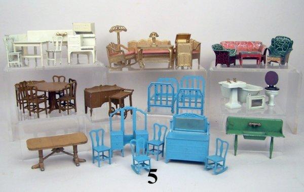 5: Tootsie Toy Furniture