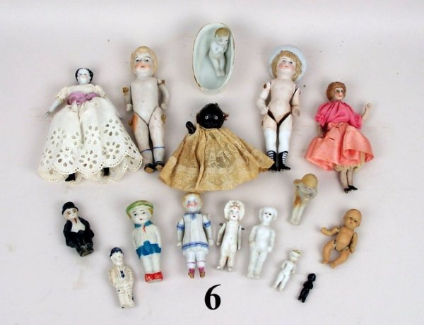 6: Small Bisque Dolls