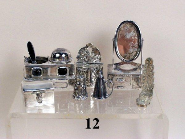 12: Continental Silver Accessories