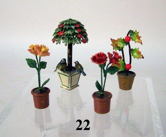 22: Vienna Bronze Potted Plants