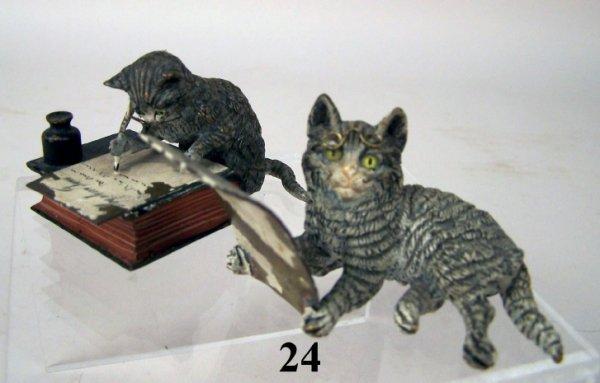 24: Vienna Bronze Cats