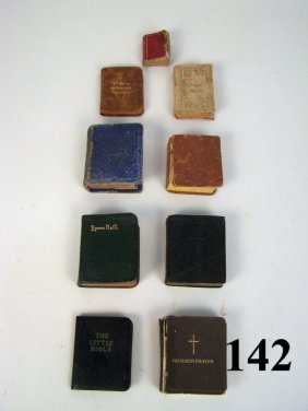 Miniature Bibles & Religious Books