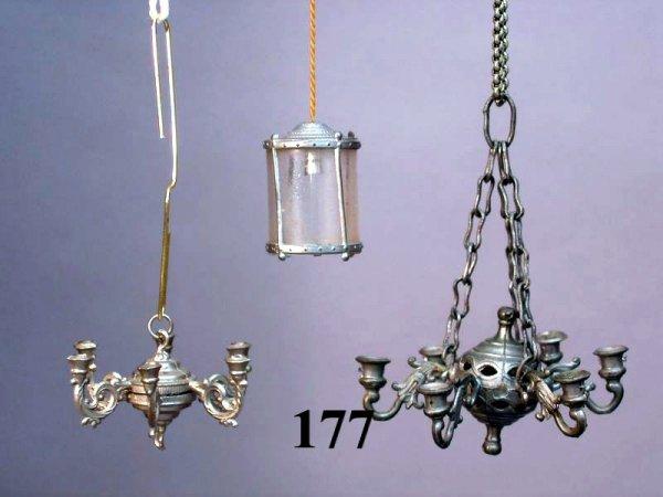 177: Vintage Dollhouse Lighting Fixtures