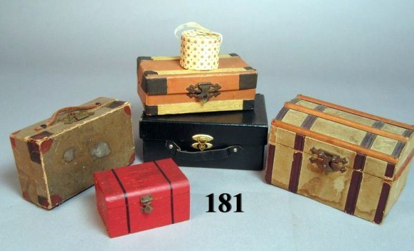 181: Miniature Trunks and Luggage
