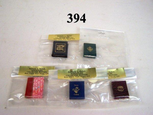 394: Miniature Books Barbara Raheb