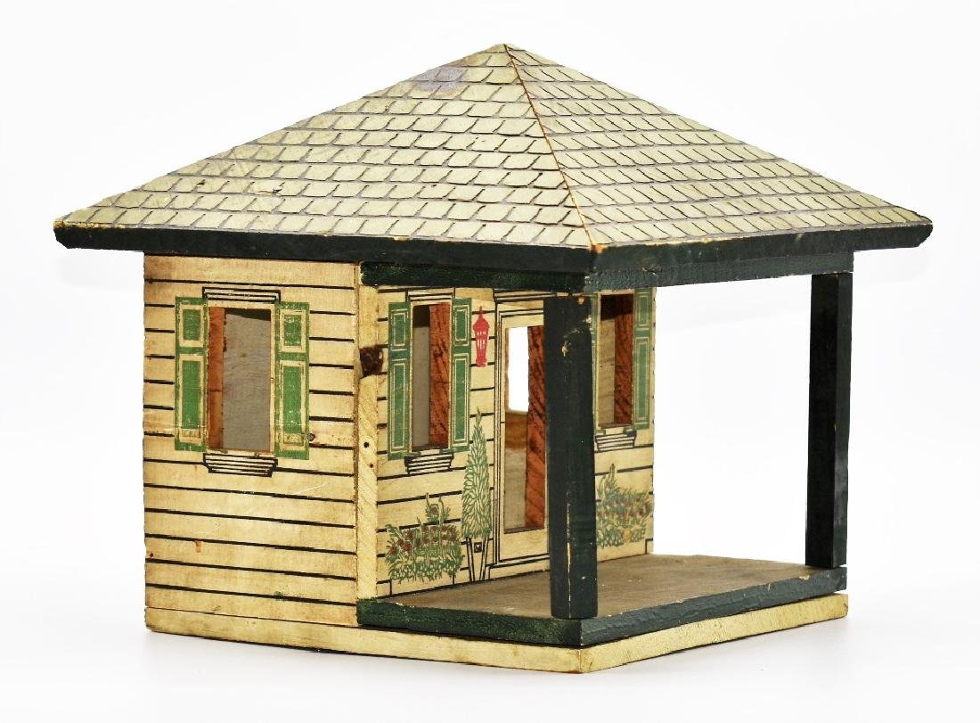 Two Vintage Dollhouse Cottages - 2