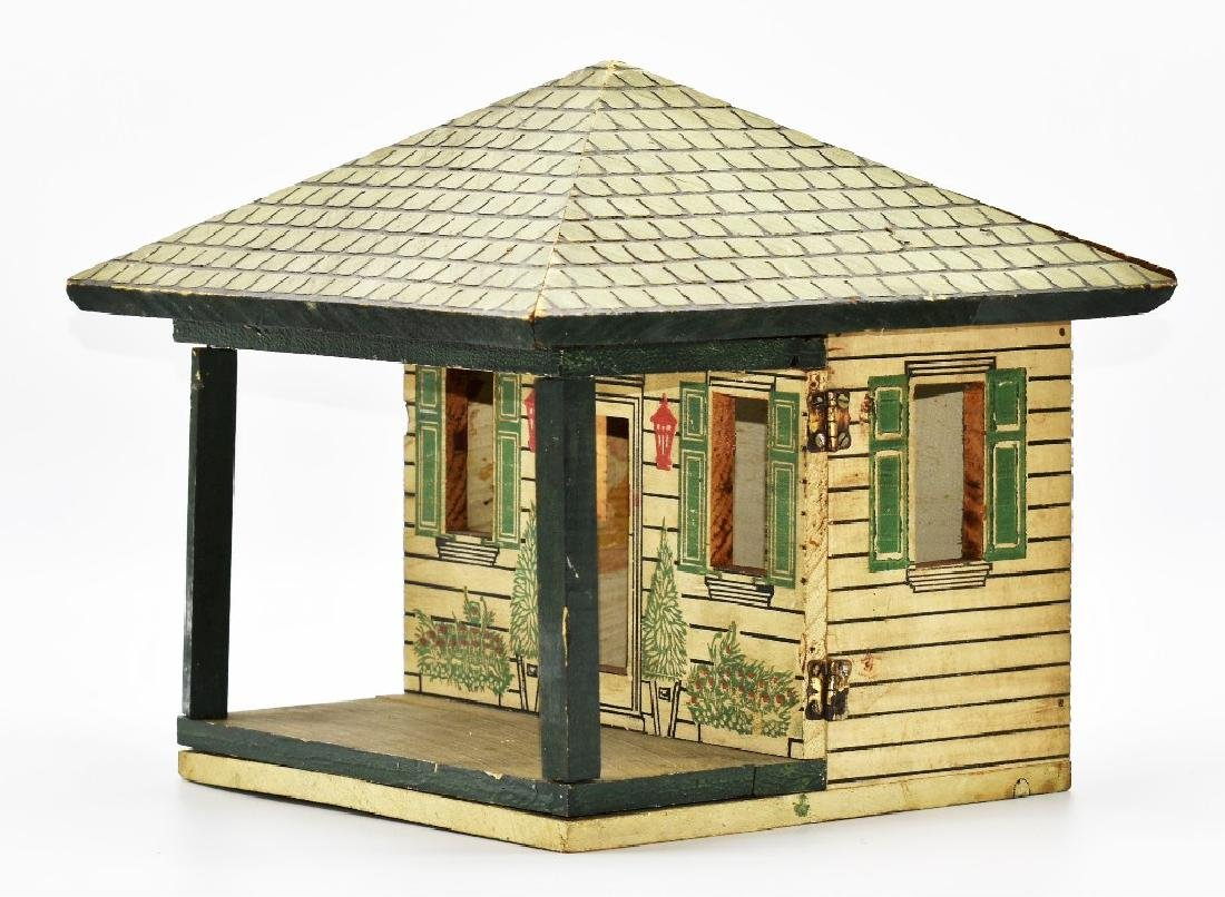 Two Vintage Dollhouse Cottages - 3
