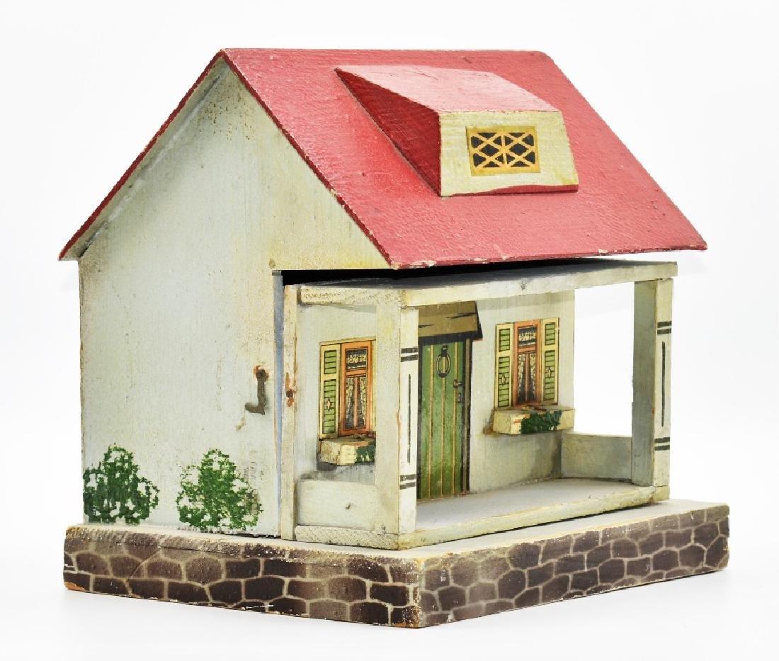 Two Vintage Dollhouse Cottages - 4