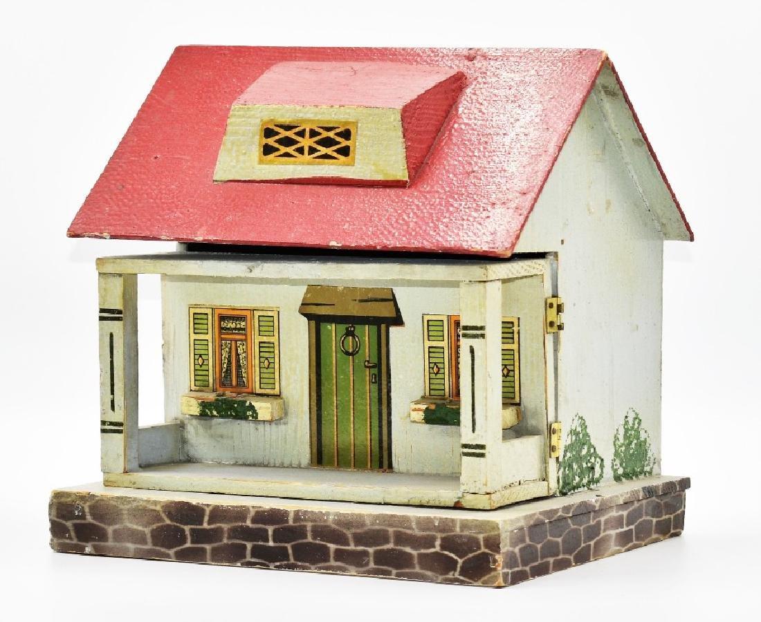 Two Vintage Dollhouse Cottages - 5