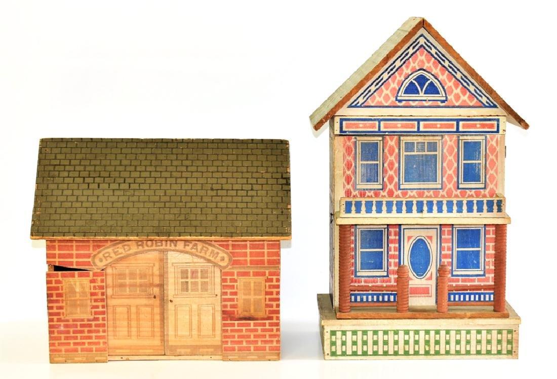 Vintage Converse Dollhouse & Stable