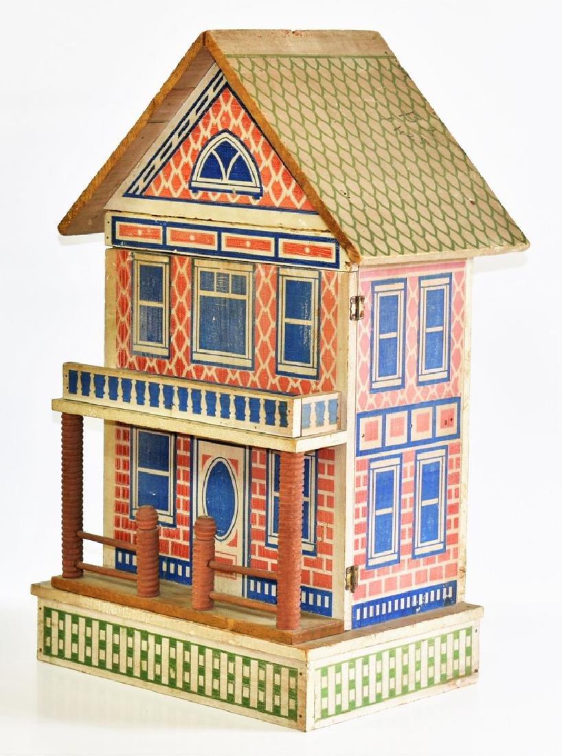 Vintage Converse Dollhouse & Stable - 3