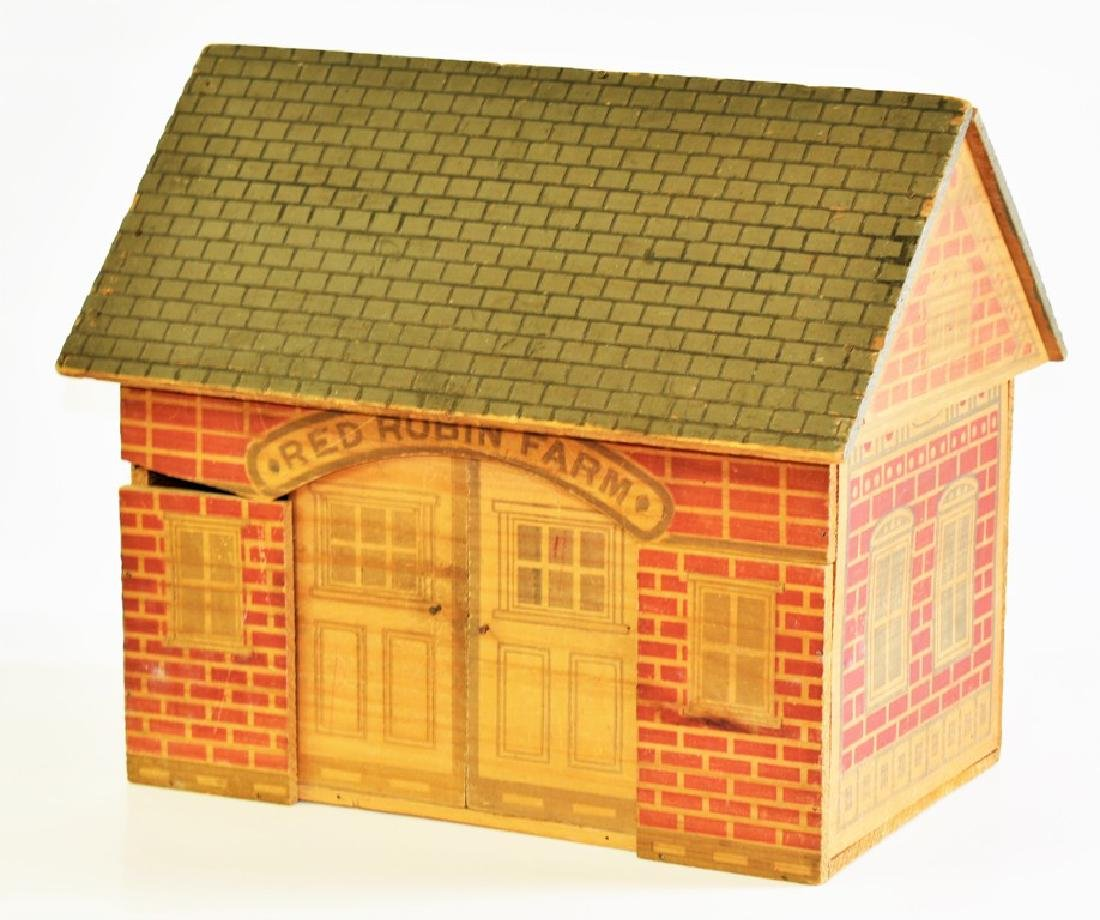 Vintage Converse Dollhouse & Stable - 5