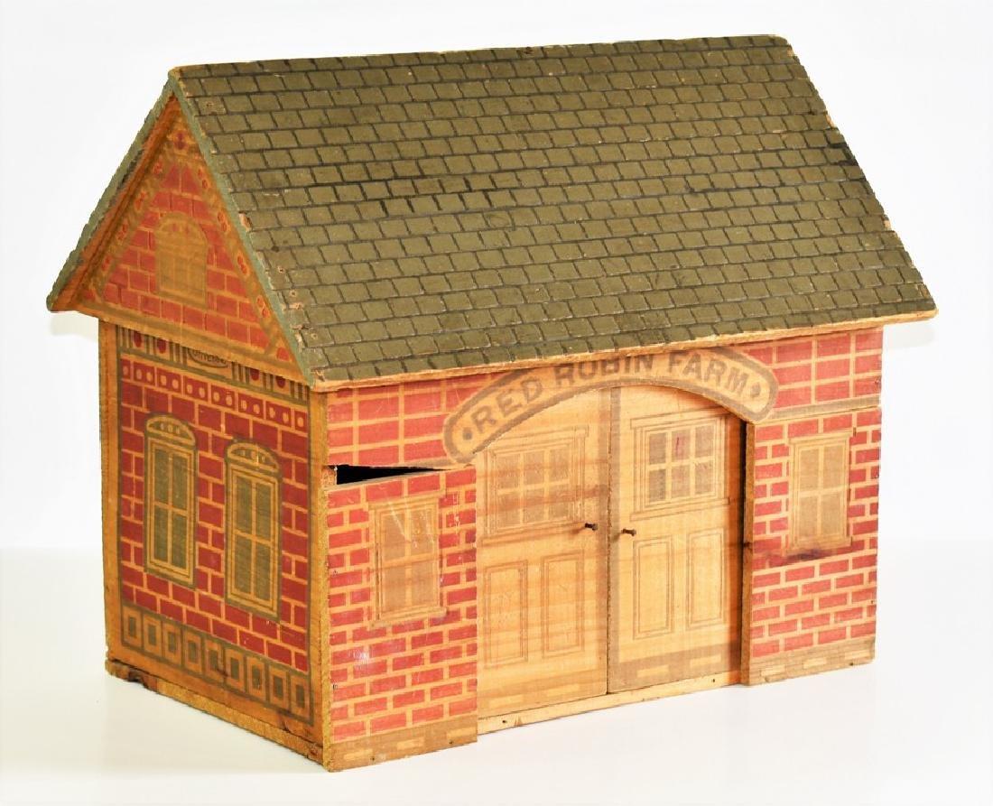 Vintage Converse Dollhouse & Stable - 6