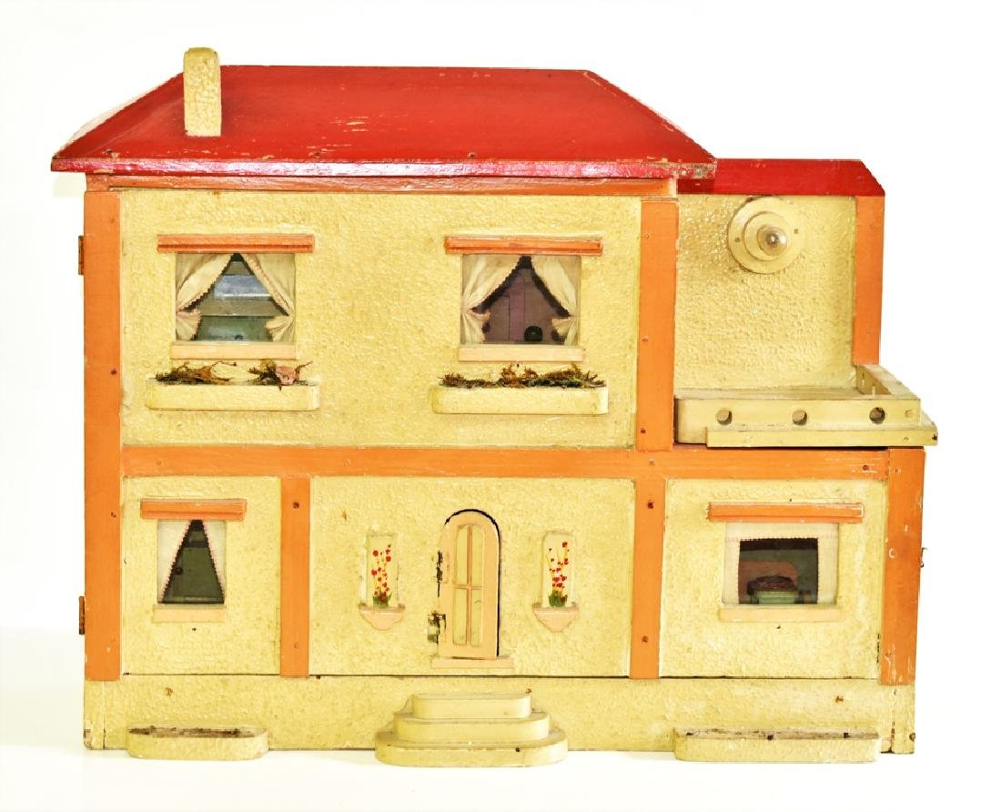 "Vintage 1/2"" Scale Dollhouse & Furniture Miniatures"