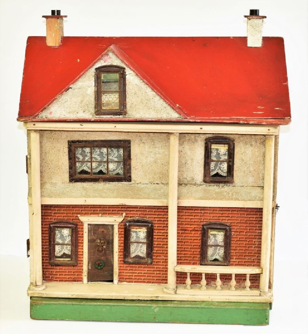 Antique Wood Dollhouse