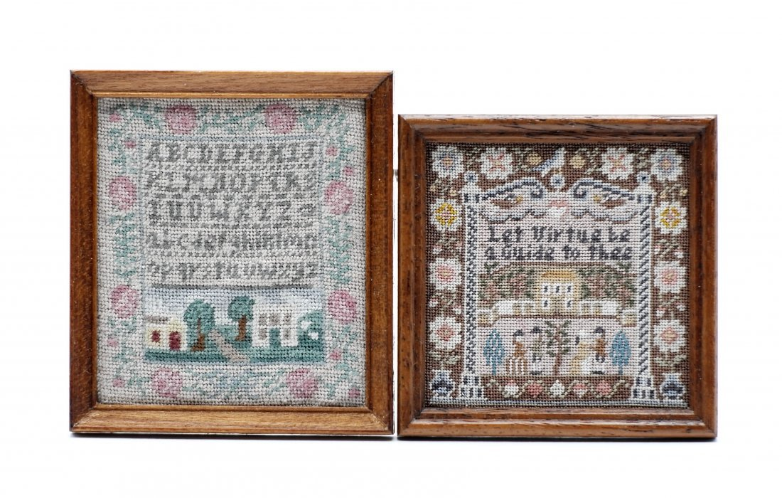 Ferguson & Goad Dollhouse Samplers Miniatures