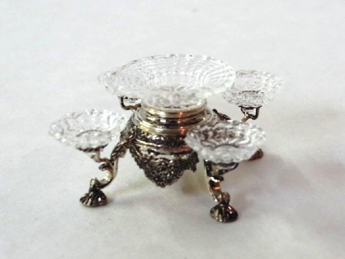 Acquisto Sterling Epergne Dollhouse Miniature - 4